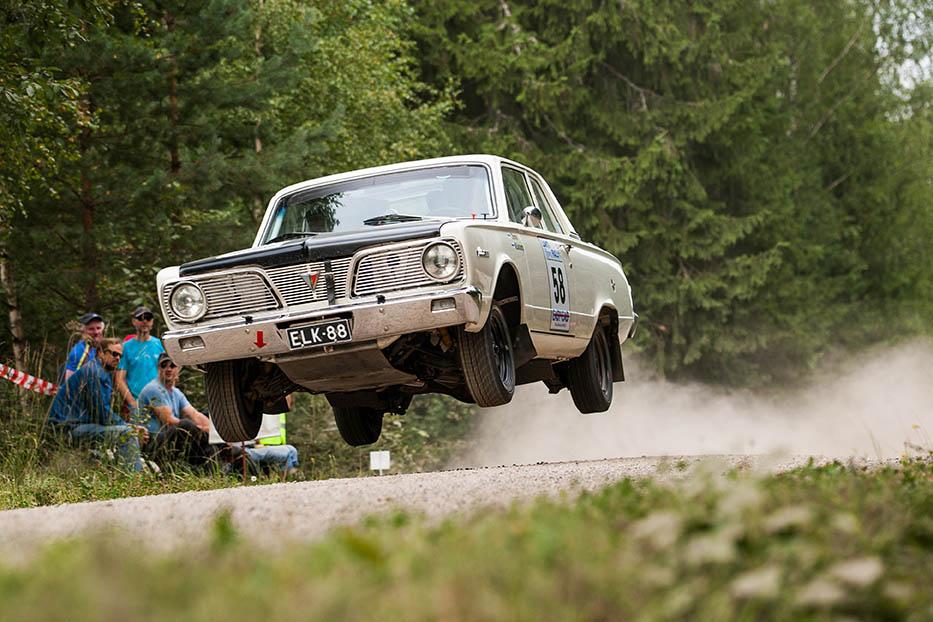 Valiant Lahti Historic EM Rally 2014